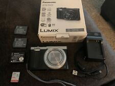 Panasonic Lumix DMC-ZS50S 12.1 MP Digital Camera - Silver w/accessories