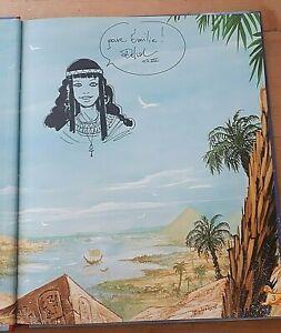 Dédicace J. Delval / Egypte aux 100 complots / Vivez l' Aventure livre jeu /LDVH