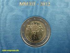 *** 2 euros conmemorativa vaticano 2012 mundo reunión familiar vaticano moneda coin kms