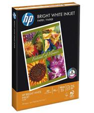 HP A4 90GSM Bright White Inkjet Paper 500 Sheets Inkjet and laser printer