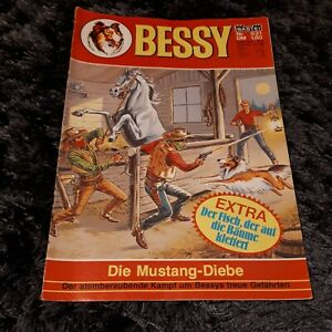 BESSY Nr. 831 mit Magazinteil, schöner BASTEI Western-Comic 1982