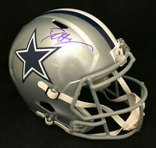 DEION SANDERS DALLAS COWBOYS SPEED AUTOGRAPHED FS FULL SIZE HELMET JSA COA