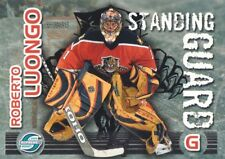 2003-04 Pacific Supreme Hockey Standing Guard #7 Roberto Luongo Panthers