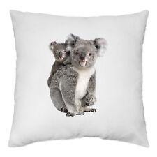 Housse de Coussin 40 x 40 cm - maman Koala et son bébé - Yonacrea
