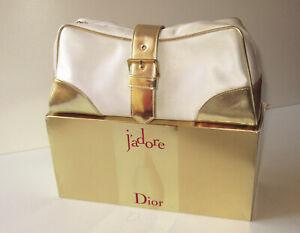 Dior J´adore  Kosmetiktasche Créme/Gold Mittelgross