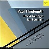 Hindemith: Cello & Piano Works, David Geringas & Ian Fountain CD | 4015372820541