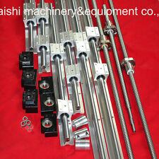LINER RAIL BEARING 3 SBR16 SETS 3 BALLSCREW RM1605+3 SUPPORTS BK/BF12+3 couplers