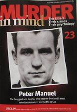 Murder in Mind magazine Issue 23 - Peter Manuel