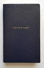 SMYTHSON PANAMA 'MAYFAIR MISSY' NOTEBOOK in Black RRP £45.00 BN