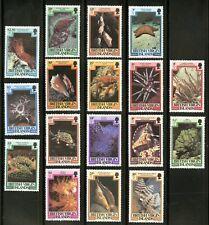 Virgin Islands   1979-80   Scott #364-380   Mint Never Hinged Set