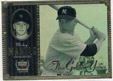 Mickey Mantle Single Baseball Cards