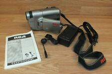 Vintage RCA (CC6373) Auto Shot 5 Head Video Camcorder / Camera w/ Charger