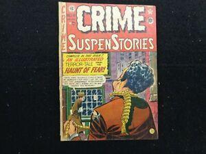 Crime SuspenStories #6 EC August September 1951 FREE SHIPPING