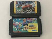 lot of 2games Mega Drive MD Dynamite Headdy Sega Japan Action Game OutRun NTSC-J