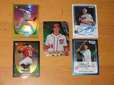 2011  Bowman Chrome Draft Base Draft Chrome and Inserts 300 Card Lot
