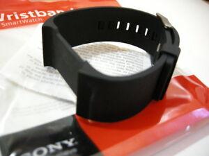 Genuine SONY SE1 #1263-0351 (Black) SmartWatch Wrist Strap ~NEW!