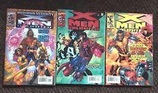 X-Men Unlimted #27 - 29  2000 Marvel 3 Issue Lot Bishop Darkstar Phoenix