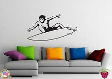 Wall Stickers Vinyl Decal Surfing Extreme Water Sports Board z1066