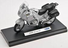 BLITZ VERSAND BMW R1100RT / R 1100 RT silver  Welly Motorrad Modell 1:18 NEU OVP
