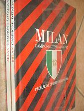 OPERA COMPLETA 2 LIBRI BOOK BOOKS AC MILAN CAMPIONE D'ITALIA 1991 - 1992 NEWSELE