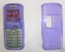 Clear Purple Nokia 6233 Express on cover, fascia NEW UK seller