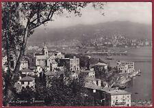 LA SPEZIA PORTO VENERE 20 PORTOVENERE - FEZZANO Cartolina FOTOGRAF. viagg. 1954