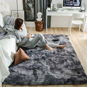 Anti-Skid Faux Fur Rug Comfort Plush Mat Fluffy Faux Fur Floor Carpet Rugs Decor