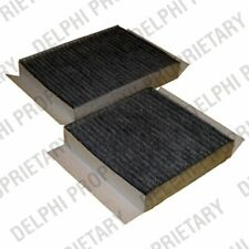 Pollen Cabin Filter 2x for PEUGEOT 207 1.4 1.6 CHOICE1/2 HDI CC SW Delphi