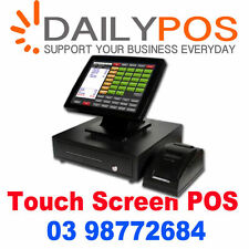 Complete Touch Screen Point of Sale System POS software Cafe Fishi Chips,  Pizza