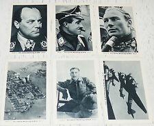 PHOTOS IMAGES EILEBRECHT 1952 1939-45 WW2 NÜRNBERG-STALINGRAD SERIE 12 LUFTWAFFE