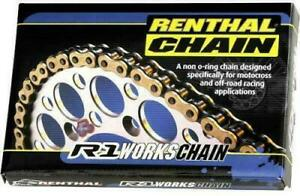 RENTHAL 520 R1 WORKS CHAIN 114 LINKS Chain C125 80-1914 R1-520-114 765442018517