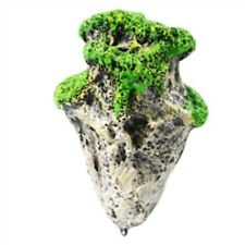 New listing Fish Tank Stone Aquarium Simulation Decor Fake Resin Stone Derective Ornament