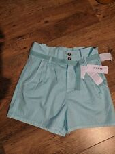 BNWT GUESS MINT GREEN SHORTS SIZE 8 - RRP £61.00