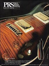 The 1998 PRS Ted McCarty Archtop electric guitar ad 8 x 11 advertisement print