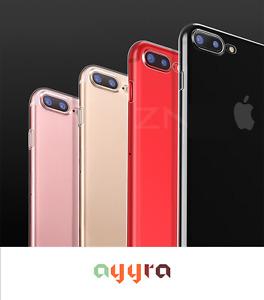 Hybrid Skin Transparent Case TPU Gel Cover For Apple iPhone 7 (Plus)  / 8 (Plus)
