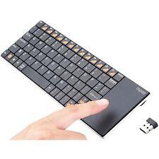 Tastiera wireless 5 GHz con Touchpad integrato, per Smart TV, design super slim