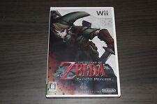 The Legend of Zelda Twilight Princess New Nintendo Wii - Japanese Version