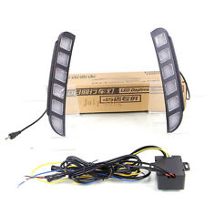 LED Daytime Running Lights DRL Yellow Turn Signals for Ford Explorer 2016-2019