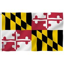 Anley Fly Breeze 3x5 Foot Maryland State Polyester Flag Maryland MD Flags