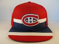 Montreal Canadiens NHL Zephyr Snapback Hat Cap Linesman