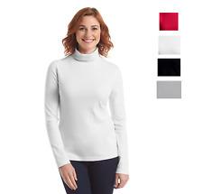 Women's Turtleneck Long Sleeve Shirt Turtleneck Top Tee Shirt