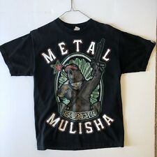 Metal Mulisha Bear Graphic Black T Shirt California Mens Size Medium