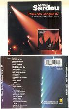Michel sardou-palais des congrès 87 - 2 CD 1993 trema/France