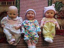 Adorable Set of three dolls Berenguer and china dolls exc.