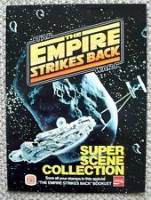 1980 Star Wars Empire Strikes Back Burger King Paper Album / Stickers Promotion