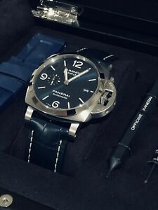 PANERAI LUMINOR MARINA 44MM - PAM01313 - BLUE - BRAND NEW