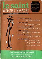 Le Saint Détective Magazine N°103 - Septembre 1963