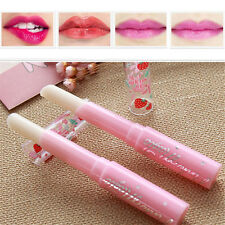 Cute 1 PC Strawberry Lip Balm Magic Temperature Changing Color Moisturizer Balm