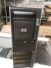 Hp Z600 2 X 3.2 Ghz  Processors  X5672  (95 W) 24 gb ram .240 gb ssd.