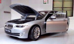 1:24 Scala Argento BMW 5 Serie 535i F10 Berlina 24026 V Dettaglio Welly Vettura